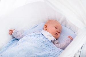 How to help baby sleep calmly
